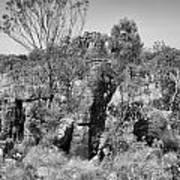 Rock Formations Art Print