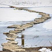 Rock Lake Crossing Art Print