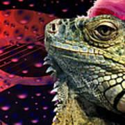 Rock Lizard Art Print