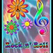 Rock Music Poster Art Print