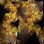 Rock Painting 5  Art Print