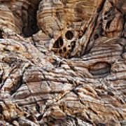 Rock Texture Art Print by Kelley King