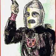 Rocket Man Art Print by Mel Thompson