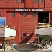 Rockport Marine Art Print