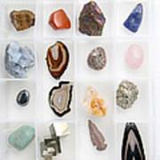 Rocks And Minerals Art Print