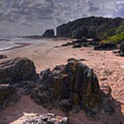 Rocks On The Shore Art Print