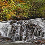 Rocky Cascade Art Print