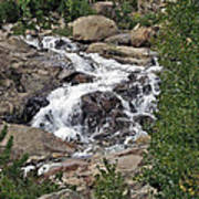 Rocky Mountain Falls Art Print