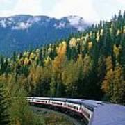 Rocky Mountain Rail Tours, Jasper Art Print