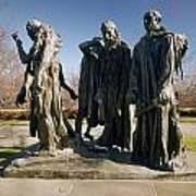 Rodin: Burghers Of Calais Art Print