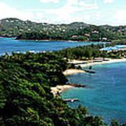 Rodney Bay St. Lucia Art Print