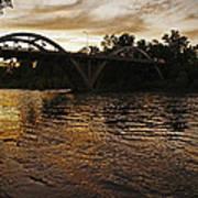 Rogue River Sunset Art Print