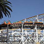 Roller Coaster - 5d17608 Art Print