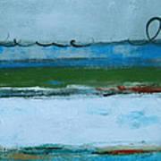 Rolling On The Blue II Art Print