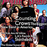Rolling Stone Cover - Volume #685 - 6/30/1994 - Counting Crows Art Print