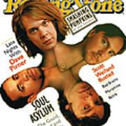 Rolling Stone Cover - Volume #711 - 6/29/1995 - Soul Asylum Art Print