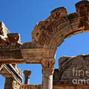 Roman Arch Ephesus Turkey Art Print