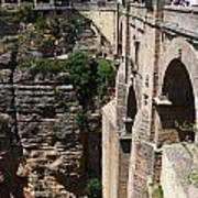 Roman Bridge Of Ronda Art Print