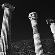 Roman Columns. Art Print