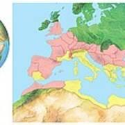Roman Empire, Artwork Art Print