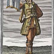 Roman Trumpet, 1723 Art Print