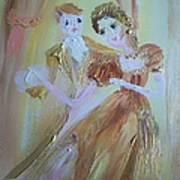 Romantic Encounter Art Print
