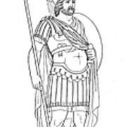 Rome: Army General Art Print