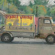 Ronnie John's Beach Cafe Art Print