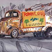 Ronniejohn's Four Art Print