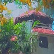Roof Top Art Print