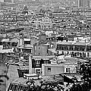 Roof Tops Of Paris Art Print