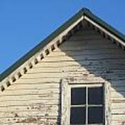 Roofline And Small Barn Facing North Art Print