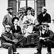Roosevelt Family 1878 Art Print