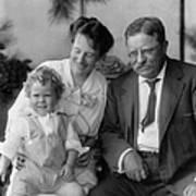 Roosevelt Family, 1915 Art Print
