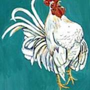 Rooster Call Art Print