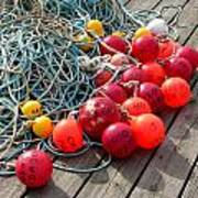 Ropes And Buoys Art Print