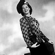 Rosalind Russell, Ca. Early 1940s Art Print