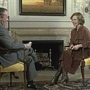 Rosalynn Carter During A White House Art Print