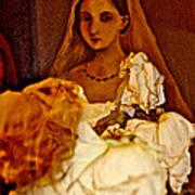 Rose Bride Art Print