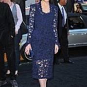 Rose Byrne Wearing A Marc Jacobs Dress Art Print by Everett