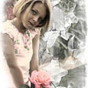 Rose Faery Art Print