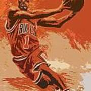 Rose Pastel Poster Art Print