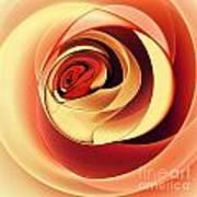 Rose Series - Pink Art Print