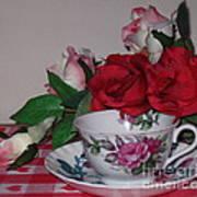 Rose Tea Art Print