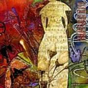 Rosebud The Angel Of Sweet Songs Art Print