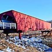 Roseman Covered Bridge Art Print