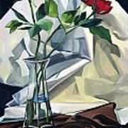 Roses Art Print by Lisa Dionne