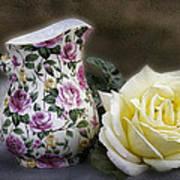 Roses Speak Of Romance Art Print