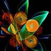 Rotating By Wind Art Print