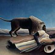 Rousseau: Gypsy, 1897 Art Print